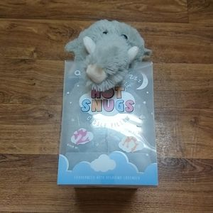 New in box aroma home  Hot Snugs cuddle pillow.